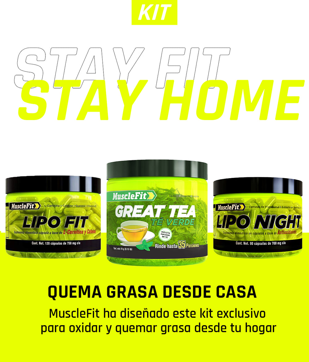 Stay Fit - Stay Home - MuscleFit