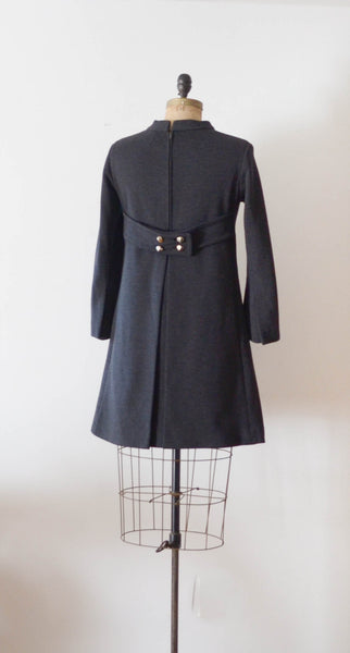 Vintage 1960's Mam'selle wool mod dress mini short sixties 60s fashion fall style concettas closet 2