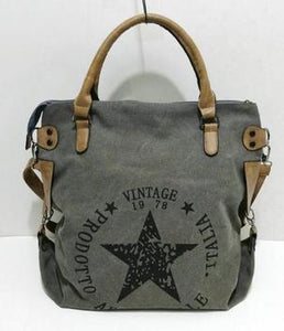 Vintage Big Star Canvas Tote