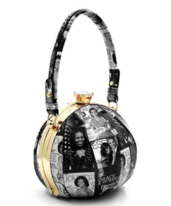 Michell Obama Magazine Ball Purse