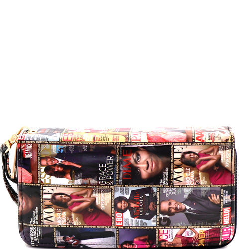 Michell Obama Magazine Double Wallet