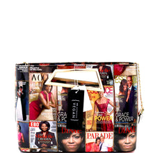 Michelle Obama Isometric Handle Clutch