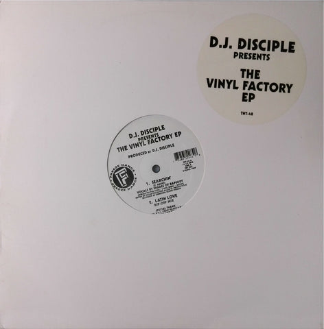 D.J. Disciple <br>The Vinyl Factory Ep 12""