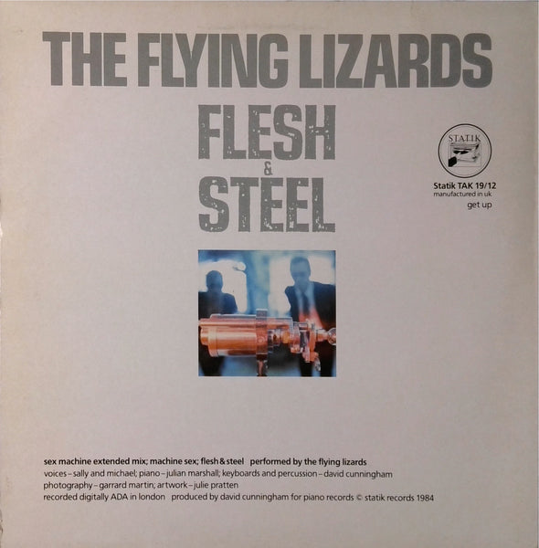 The Flying Lizards / Sex Machine (Extended Mix)