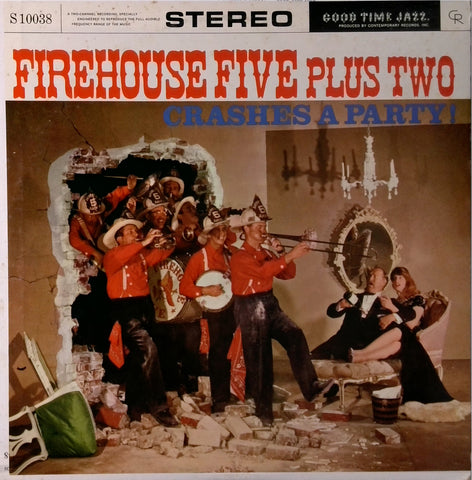 Firehouse Five Plus Two <BR>Crashes A Party