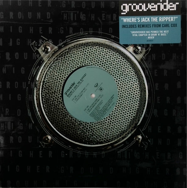 Grooverider  <BR>Where'S Jack The Ripper
