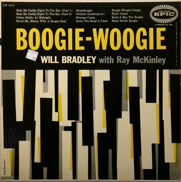 Will Bradley With Ray Mckinley <BR>Boogie Woogie