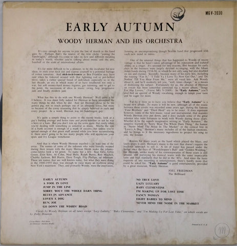 Woody Herman <BR>Early Autumn