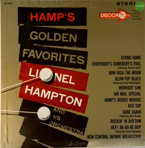 Lionel Hampton <BR>Hamp's Golden Favorites