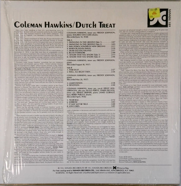 Coleman Hawkins <BR>Dutch Treat