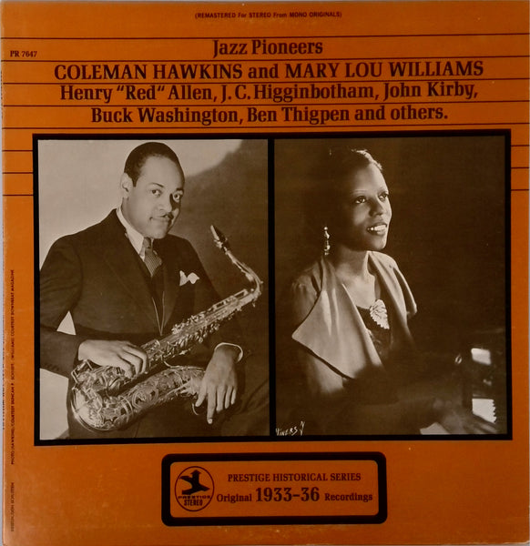 Jazz Pioneers <BR>Coleman Hawkins And Mary Lou Williams