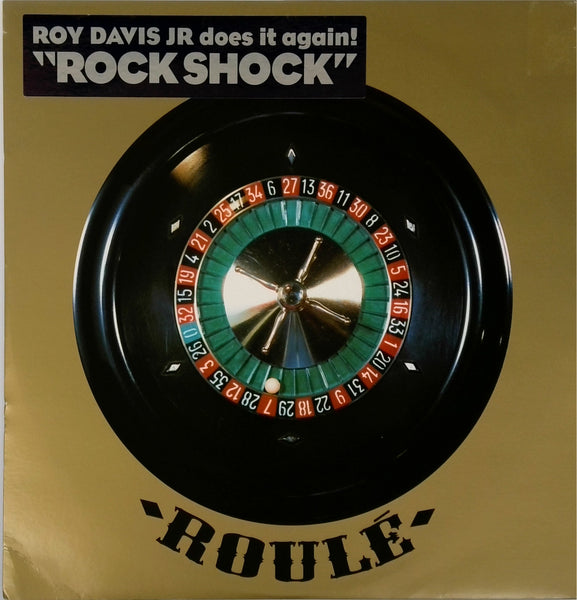 Roy Davis Jr  <BR>Rock shock