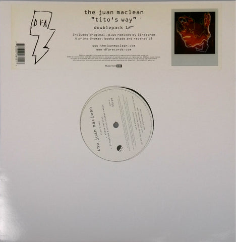 The Juan Maclean  <br>Tito's Way Remixes