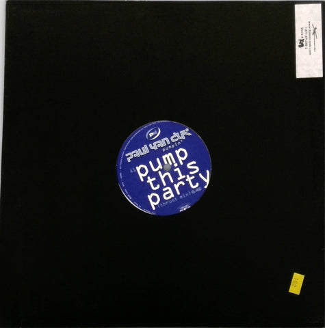Paul van Dyk ‎/ Pump This Party / Pumpin'