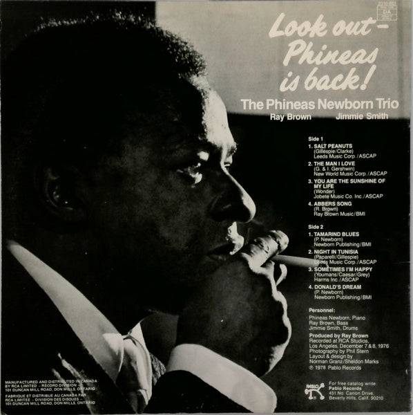 The Phineas Newborn Trio* <BR>Look Out - Phineas Is Back!