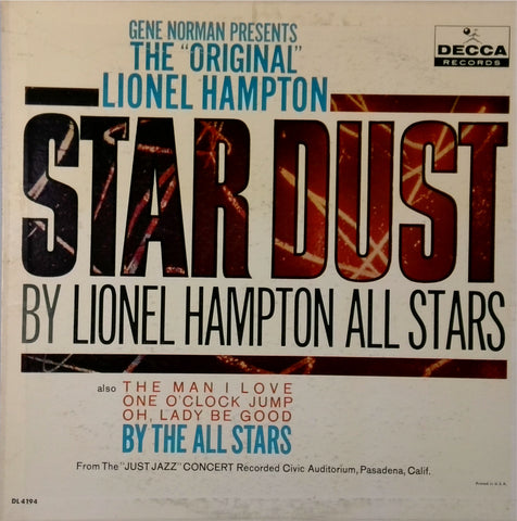 Lionel Hampton All Stars / The Original Lionel Hampton Stardust