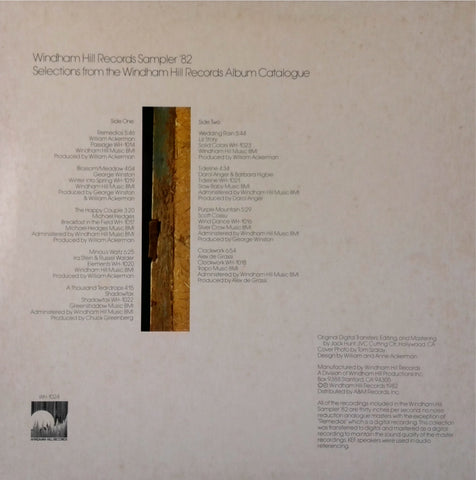 VA / Windham Hill Records Sampler '82