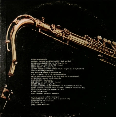 Various / The Saxophone