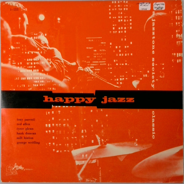 Tony Parenti'S All Stars <BR>Happy Jazz