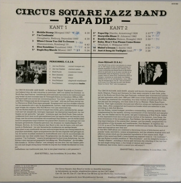 Circus Square Jazz Band / Papa-Dip