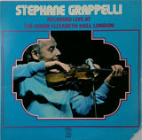 Stephane Grappelli <BR>Recorded Live At The Queen Elizabeth Hall London