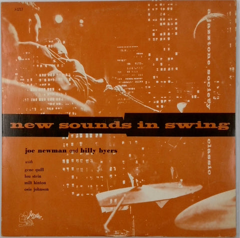 Joe Newman And Billy Byers <BR>New Sounds In Swing