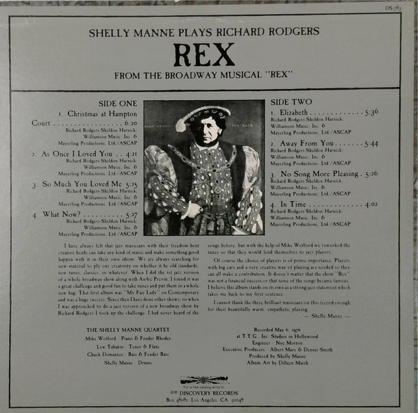 Shelly Manne Plays Richard Rodgers