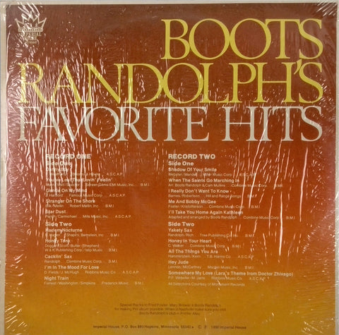Boots Randolph's Favorite Hits