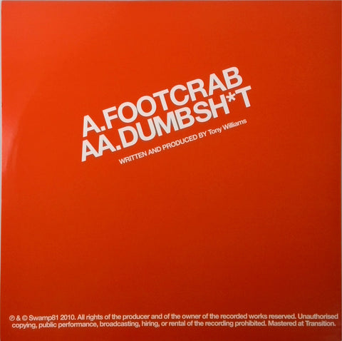 Addison Groove Presents <BR>Dumsh*t / Footcrab