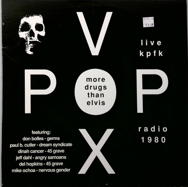 Vox Pop <BR>More Drugs Than Elvis (Live KPFK Radio 1980)