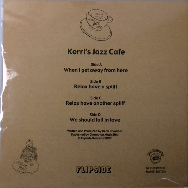 Kerri's Jazz Cafe  <BR>EP