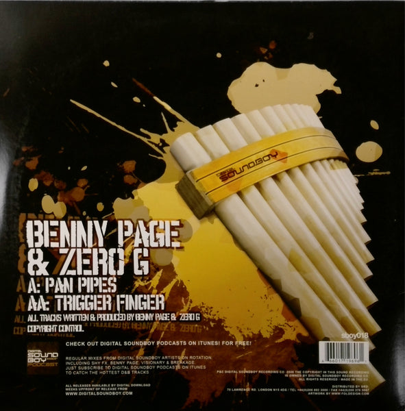 Benny Page and Zero G - Pan Pipes / Trigger Finger