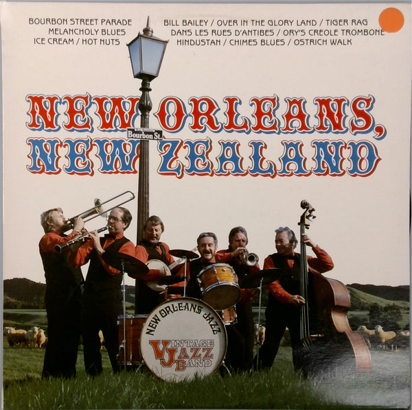 Vintage Jazz Band <BR>New Orleans, New Zealand
