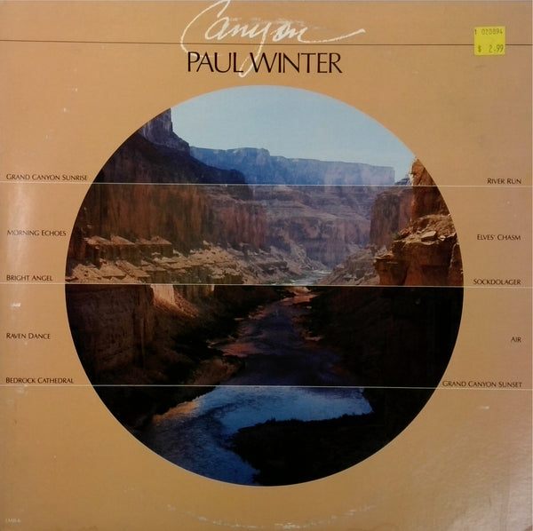 Paul Winter <BR>Canyon