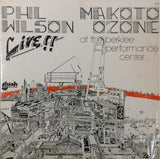 Phil Wilson, Makoto Ozone <BR>Live At Berklee Performance Center