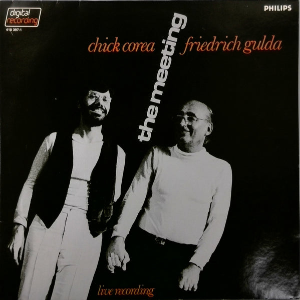 CHICK COREA AND FRIEDRICH GULDA <BR>THE MEETING