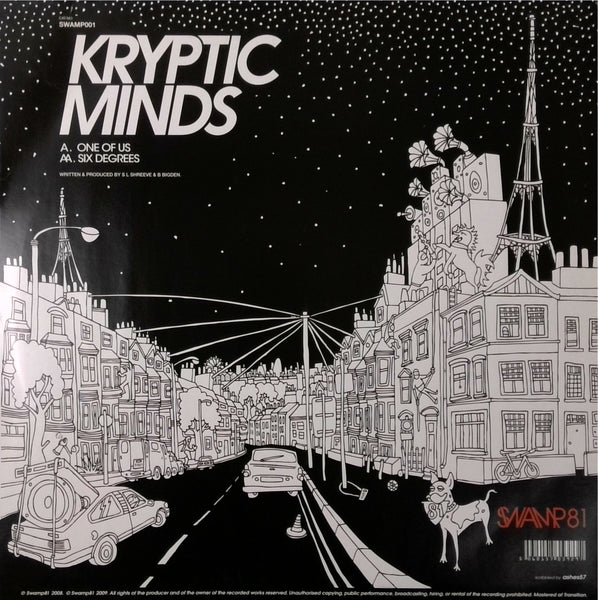 KRYPTIC MINDS <BR>ONE OF US / SIX DEGREES