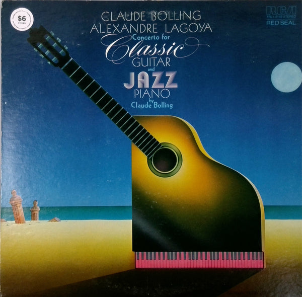 CLAUDE BOLLING, ALEXANDRE LAGOYA <BR>CONCERT FOR CLASSIC GUITAR AND JAZZ PIANO
