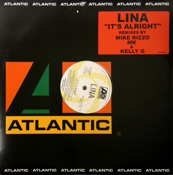 LINA <BR>IT'S ALRIGHT (MIKE RIZZO REMIX) 2LP