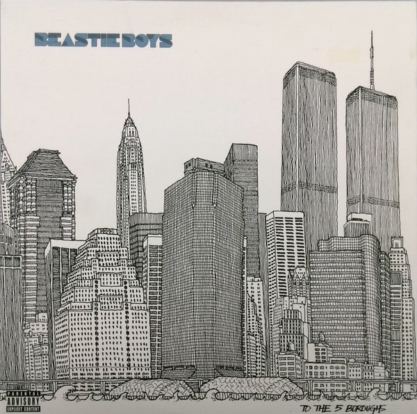 THE BEASTIE BOYS <BR>TO THE 5 BOROUGHS (2LP)