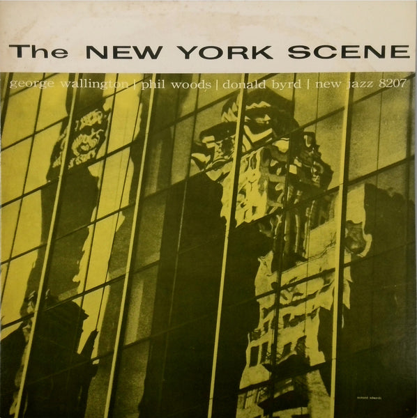 GEORGE WALLINGTON QUINTET <BR>THE NEW YORK JAZZ SCENE