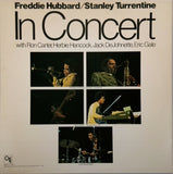 FREDDIE HUBBARD / STANLEY TURRENTINE <BR>IN CONCERT VOLUME ONE