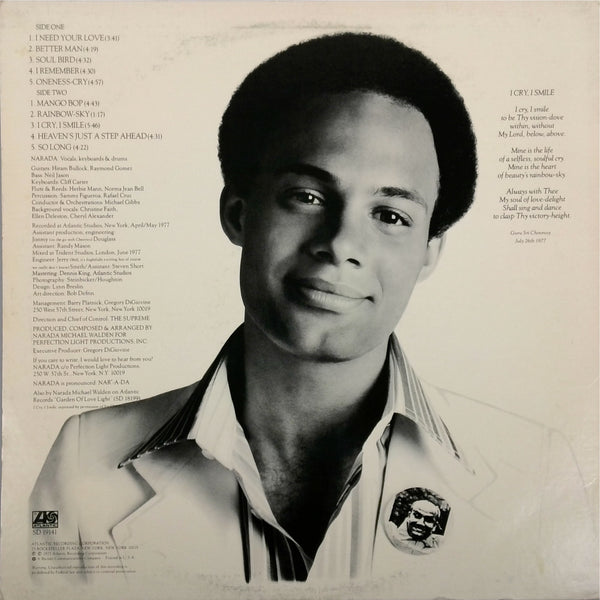 NARADA MICHAEL WALDEN <BR>I CRY