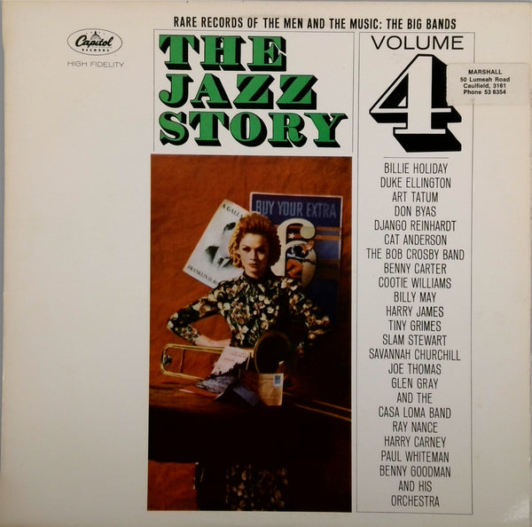 VARIOUS <BR>THE JAZZ STORY VOLUME 4