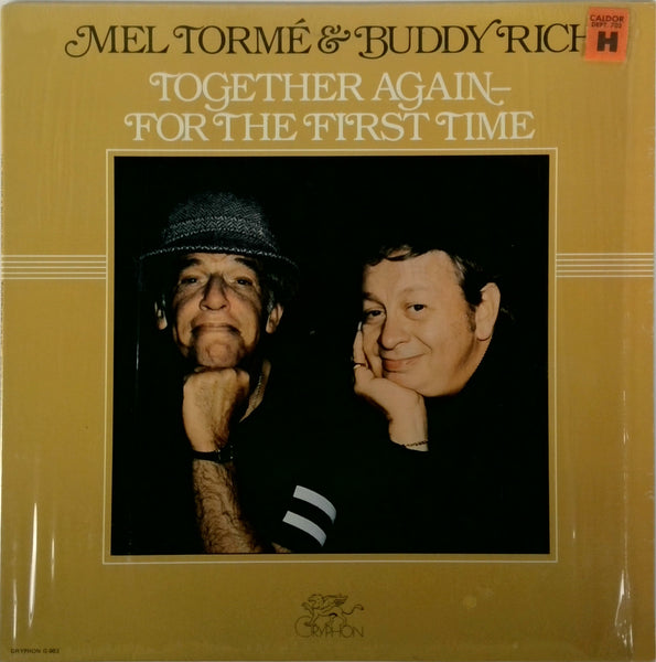MEL TORME, BUDDY RICH <BR>TOGETHER AGAIN - FOR THE FIRST TIME