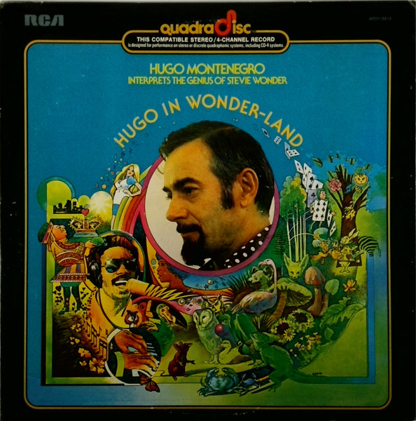 HUGO MONTENEGRO <BR>HUGO IN WONDER-LAND (STEVIE WONDER)