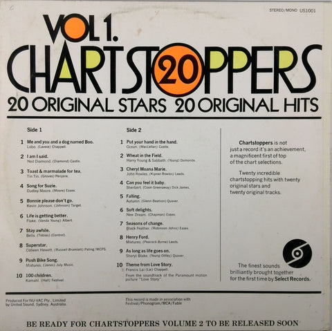 VARIOUS <BR>VOL. 1 CHART STOPPERS