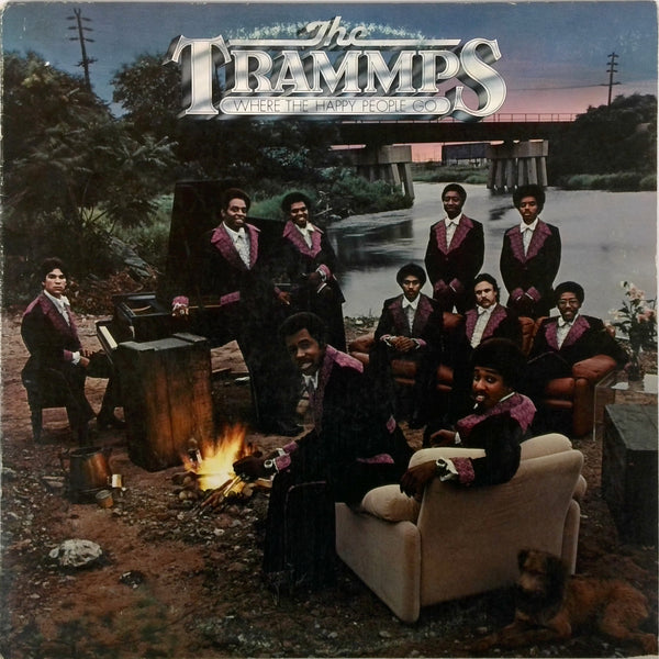 THE TRAMMPS <BR>WHERE HAPPY PEOPLE GO