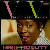 SARAH VAUGHAN <BR>VAUGHAN AND VIOLINS