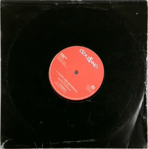 DANNY RED / ARETHA MARIEJAH <BR>SOMETHING WRONG / I LOVE THE BLESSINGS 10""